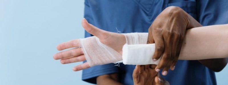 Nurse Bandage Patient, Edenvale